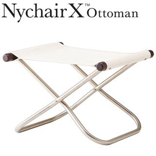 【nychairx】 Nychair X/ニーチェアエックス オットマン ダークブラウン ホワイト