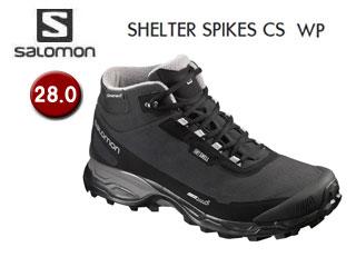 SALOMON/サロモン L39072800 SHELTER SPIKES CS WP ウィンターシューズ メンズ 【28.0】