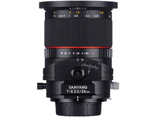 【受注後、納期約2~3ヶ月かかります】【お洒落なクリーニングクロスプレゼント!】 SAMYANG/サムヤン TILT/SHIFT LENS 24mm F3.5 ED AS ソニーE用