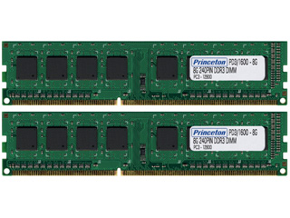 愛用 Princeton 240pin/プリンストン デスクトップPC用増設メモリ 8GB×2枚組 PC3-12800(DDR3-1600) 240pin DDR3 8GB×2枚組 SDRAM SDRAM PDD3/1600-8GX2, 下條村:2580e1cc --- zhungdratshang.org