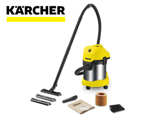 KARCHER/ケルヒャー WD3 乾湿両用バキュームクリーナー