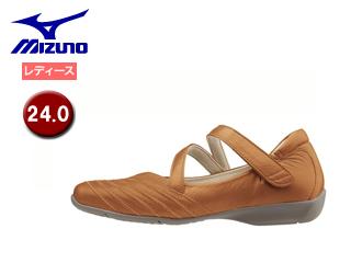 mizuno/ミズノ B1GH1660-51 セレクト525 ウォーキングシューズ レディース 【24.0】 (キャメル)