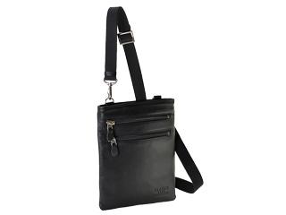 日本製/本革ミニショルダー【ブラック】■幅18cm■バッグインバッグにも。ベルトポーチとしても。 牛革 革製品 レザー 日本製 JAPAN 鞄 セカンドバッグ ポーチ ケース