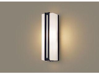 Panasonic/パナソニック LGWC81413LE1 LEDポーチライト オフブラック【電球色】【明るさセンサ付】【壁直付型】