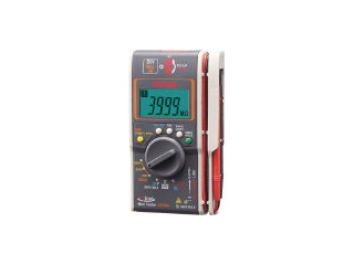 sanwa/三和電気計器 メグオームテスタ ケース付(3レンジ絶縁抵抗計+クランプ) DG35A/C