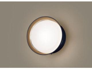 Panasonic/パナソニック LGWC80312LE1 LEDポーチライト オフブラック【電球色】【明るさセンサ付】【壁直付型】