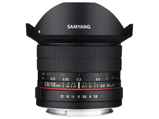 【納期にお時間がかかります】 SAMYANG/サムヤン 12mm F2.8 ED AS NCS FISH-EYE ソニー E用 フルサイズ 【お洒落なクリーニングクロスプレゼント!】