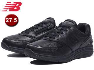 NewBalance/ニューバランス MW585-BK-6E ウォーキングシューズ メンズ 天然皮革 【27.5cm】【6E(超ワイド)】 (ブラック)