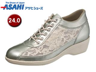 ASAHI/アサヒシューズ KS23296-1AA 快歩主義 L114AC レディースシューズ 【24.0cm・3E】 (ゴールド)