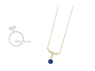 me.luxe/エムイーリュークス バースデーストーン  ネックレス K10 お誕生日 誕生石 バースデー ネックレス ペンダント ジュエリー ジュエリー プレゼント ギフト 包装 記念日
