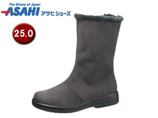 ASAHI/アサヒシューズ AF39457-1 トップドライ ゴアテックス レディースブーツ 【25.0cm・3E】 (グレー)