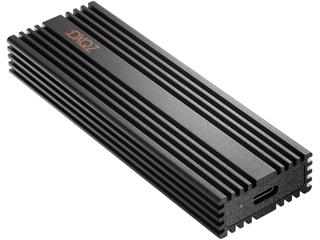 ダダンドール USB3.2 Gen2 バスパワー対応 外付けポータブルSSD 1TB 最大読込1050MB/s 最大書込970MB/s DDSS001T01BK