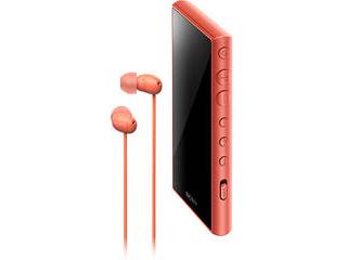 SONY/ソニー ウォークマン Aシリーズ 16GB オレンジ(ヘッドホン付属) NW-A105HN/D