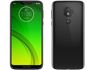 Motorola モトローラ 納期未定 6.2型SIMフリースマートフォン Moto G7 Power パワー PAEK0002JP セラミックブラック 単品購入のみ可(取引先倉庫からの出荷のため) 【クレジットカード決済、代金引換決済のみ】