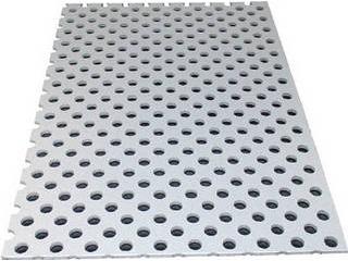 ALINCO/アルインコ 【代引不可】アルミ複合板パンチ 3X1820X910 シルバー CG91P-21