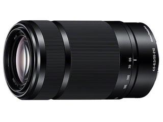 SONY/ソニー E 55-210mm F4.5-6.3 OSS (ブラック)  望遠ズームレンズ SEL55210