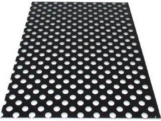 ALINCO/アルインコ 【代引不可】アルミ複合板パンチ 3X1820X910 ブラック CG91P-11