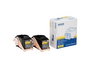 EPSON/エプソン LPC3T18YP LP-S7100用 トナーカートリッジ/イエロー/Mサイズ×2個 納期にお時間がかかる場合があります