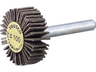 TRUSCO/トラスコ中山 ダイヤ軸付フラップホイール オールダイヤ Φ50X軸径6 400# P-DF5020-6A 400
