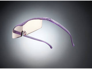 Hazuki Company/ハズキ 【Hazuki/ハズキルーペ】メガネ型拡大鏡 コンパクト カラーレンズ 1.85倍 ニューパープル 【ムラウチドットコムはハズキルーペ正規販売店です】