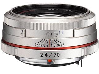 超お得なセットも有ります! PENTAX/ペンタックス HD PENTAX-DA 70mmF2.4 Limited(シルバー) 望遠レンズ pentaxlenscb2018