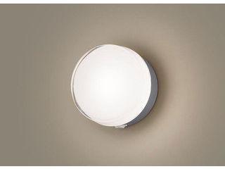 Panasonic/パナソニック LGWC80316LE1 LEDポーチライト シルバーメタリック【電球色】【明るさセンサ付】【壁直付型】