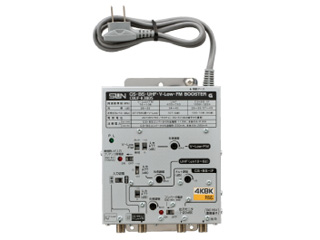 サン電子 CBUF-K38DS 4K・8K衛星放送対応 CS・BS・UHF・V-Low・FMブースタ(38dB型)