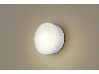 Panasonic/パナソニック LGWC85070F LEDポーチライト ホワイト【電球色】【明るさセンサ付】【壁直付型】