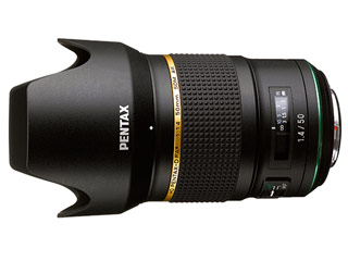 PENTAX/ペンタックス HD PENTAX-D FA★50mmF1.4 SDM AW(ブラック) 35ミリフルサイズ対応大口径単焦点レンズ 【将来的なカメラボディの進化にも対応する新世代の高性能スターレンズ】