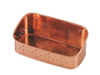 TAKEKOSHI タケコシ 好評受付中 銅 世界の人気ブランド 18cm 洗剤タワシ入れ