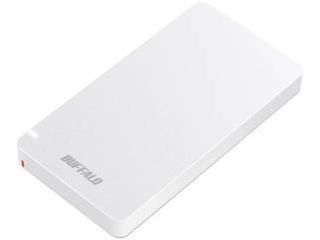 BUFFALO バッファロー USB3.1(Gen2) ポータブルSSD 1.9TB SSD-PGM1.9U3-W ホワイト