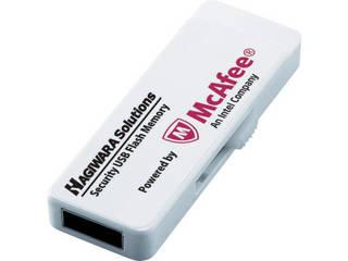 ELECOM/エレコム ウィルス対策機能付USBメモリー 8GB 1年ライセンス HUD-PUVM308GA1