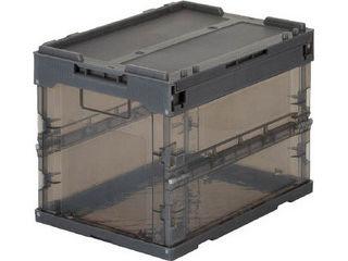 TRUSCO トラスコ中山 スケルコンオリコン20L 蓋付 上品 BK 黒 TR-SC20 限定特価