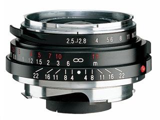 COSINA/コシナ COLAR SKOPAR 35mm F2.5 PII (VM) 35mmパンケーキ型レンズ 【15thcatokka】