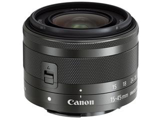 CANON/キヤノン EF-M15-45mm F3.5-6.3 IS STM(グラファイト) 標準ズームレンズ