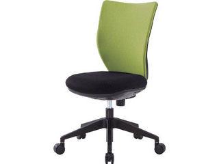 IRIS CHITOSE/アイリスチトセ 【代引不可】回転椅子3DA グレー 肘なし シンクロロッキング 3DA-S45M0-GR