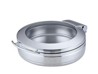 メーカー在庫限り品 Sampo 三宝産業 丸チェーフィング 輸入 J301-Sガラス蓋 ST中皿