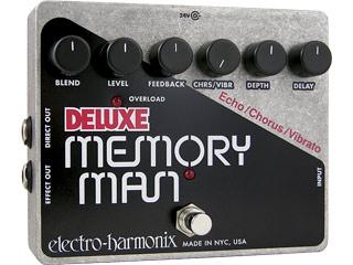 【nightsale】 electro harmonix/エレクトロハーモニクス Deluxe Memory Man アナログディレイ エフェクター 【国内正規品】