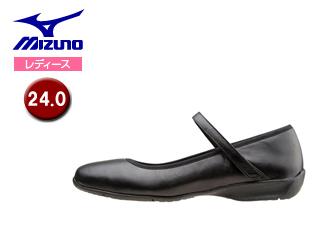 mizuno/ミズノ B1GH1570-09 レディースウォーキングシューズ SELECT520 【24.0】 (ブラック)
