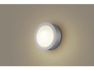 Panasonic/パナソニック LGWC85071F LEDポーチライト シルバーメタリック【電球色】【明るさセンサ付】【壁直付型】