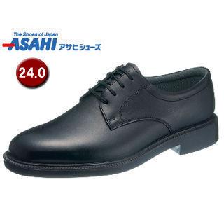 ASAHI/アサヒシューズ AM33241 通勤快足 TK33-24 ビジネスシューズ 【24.0cm・4E】 (ブラック)