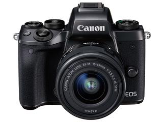 CANON/キヤノン EOS M5・EF-M15-45 IS STMレンズキット 1279C014