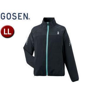 GOSEN/ゴーセン Y1601 レディースライトウィンドジャケット 【LL】 (ブラック)