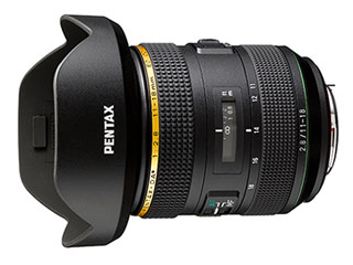 【お得なセットもあります!】 PENTAX/ペンタックス HD PENTAX-DA★11-18mmF2.8ED DC AW 大口径超広角レンズ HDコーティング/SPコーティング/防塵防滴(AW)/-10℃耐寒動作保証/フォーカスクランプ機能