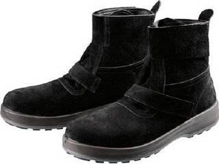 Simon/シモン 安全靴 WS28黒床 25.0cm WS28BKT-25.0