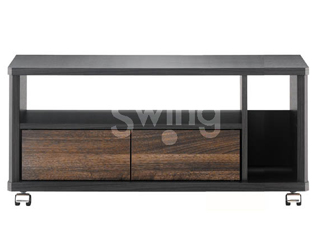 ASAHI/朝日木材 AS-EE740 テレビ台 Swing 15kg以下 ~32V型対応 EE style ※要組立商品 ハーフオープンタイプ