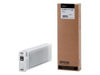 EPSON/エプソン Sure Color用 インクカートリッジ/700ml(ブラック) SC3BK70