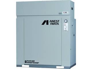 【組立・輸送等の都合で納期に1週間以上かかります】 ANEST IWATA/アネスト岩田コンプレッサ 【代引不可】パッケージコンプレッサ 3.7KW 60Hz CLP37EF-8.5M6