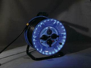 NICHIDO/日動工業 防雨型電工ドラム LEDラインドラム 緑 NPWLEK33G