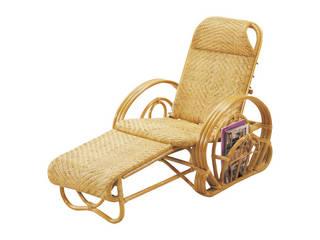 籐三つ折寝椅子